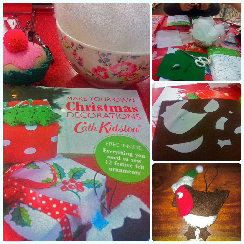 make your own christmas decorations cath kidston - How To Make Your Own Christmas Decorations