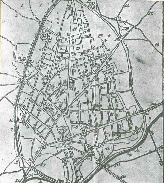 Blog de geograf a del profesor juan mart n mart n planos - Plano de ciudad real ...