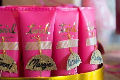 kate spade favors for bridal shower