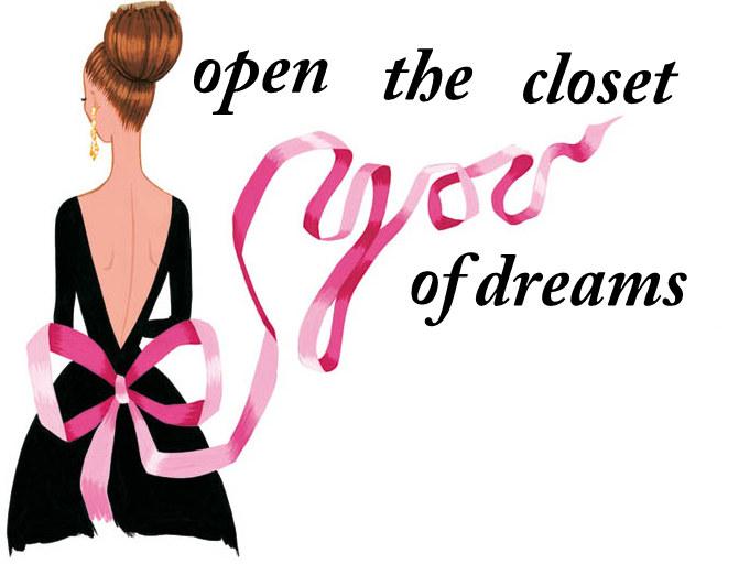 open the closet of dreams