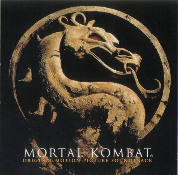 Imagen con la portada de la banda sonora original de la película Mortal Kombat