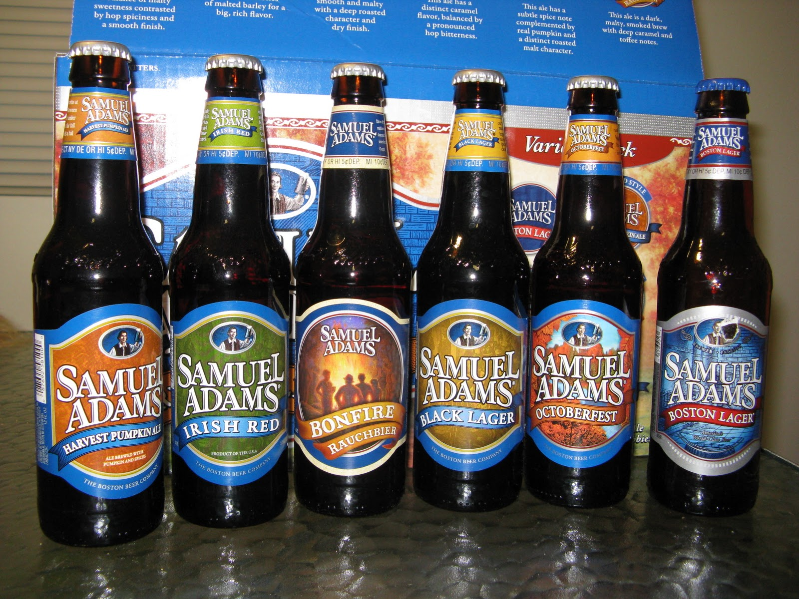 Rhapsody in Brew: Boston Beer Co. -- Samuel Adams Harvest ...
