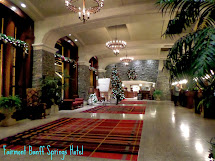 Inside Fairmont Banff Springs Hotel