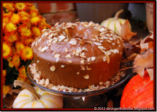 Caramel Toffee Pound Cake