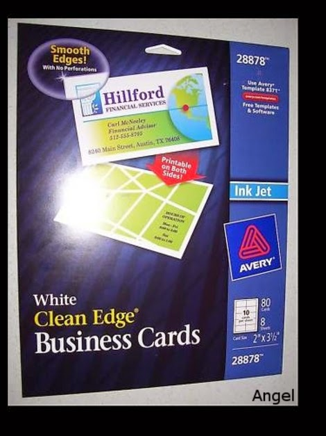 The voice of amy lynn review avery 28878 white clean edge business review avery 28878 white clean edge business cards i was seeking a cheap easy way to make business cards without paying the fortune that vistaprint asks reheart