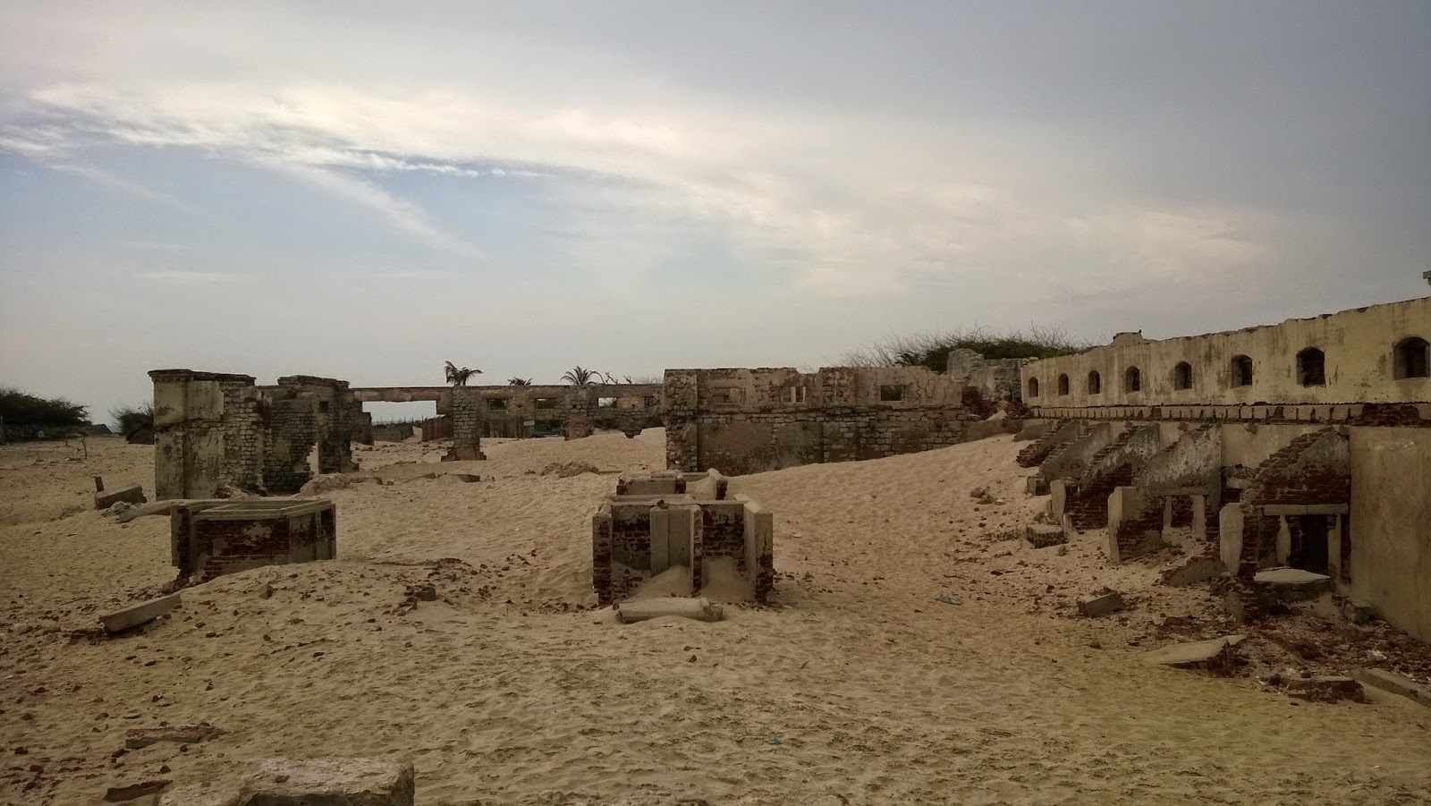 Remnants of a Dhanushkodi