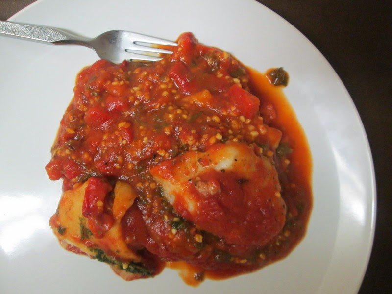 Middle Eastern Tomato Garlic Fish