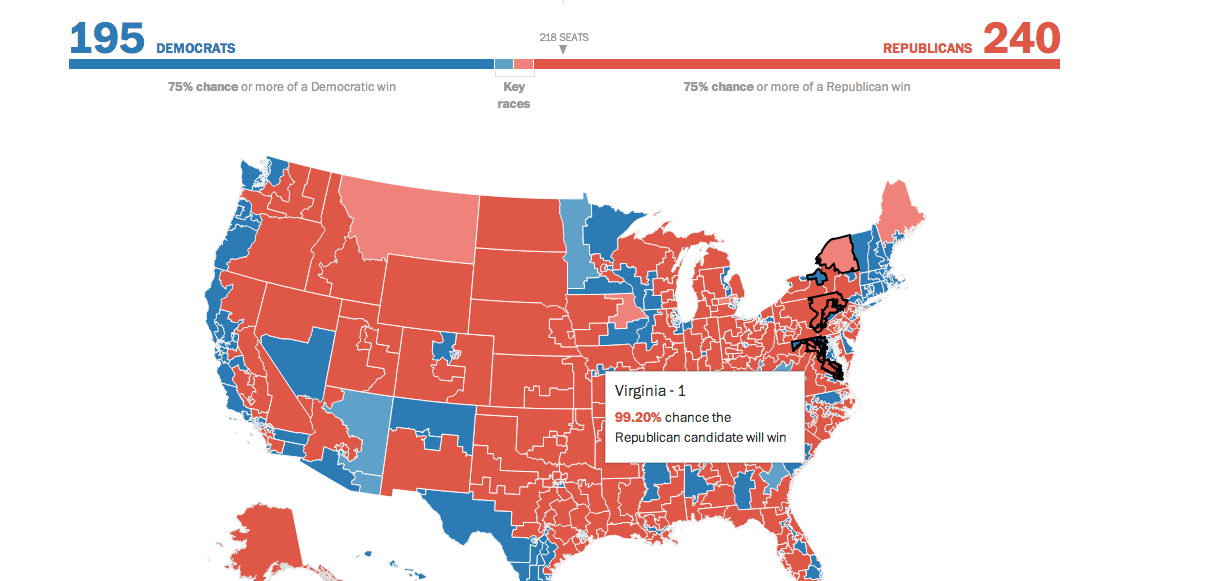 Election Lab: 2014 midterm elections forecast - The Washington Post