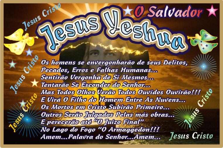 Jesus Yeshua Nosso Eterno Senhor e Salvador