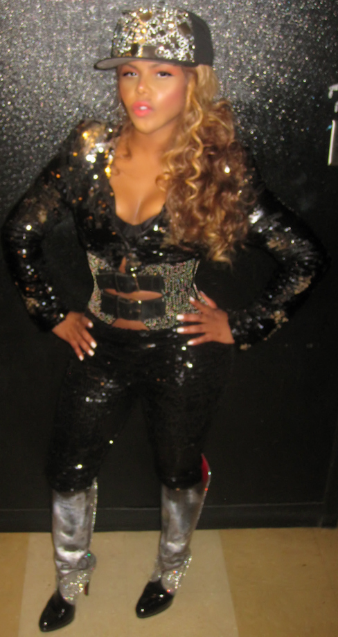 Lil' Kim Wearing Rimbello #Star365 Snapback Hats