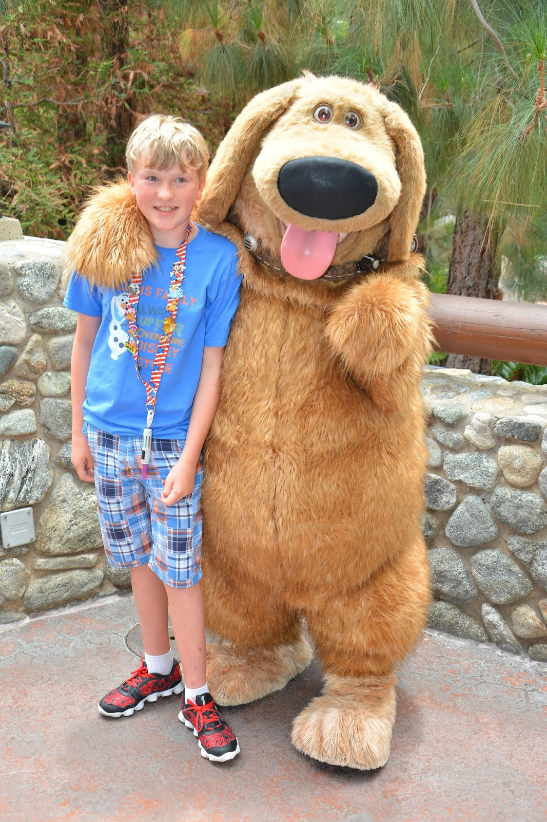 Williams family the best character meet and greet of our summer each disney vacation a character interaction stands out and this summer was no different during our first day touring california adventure we happened by kristyandbryce Gallery