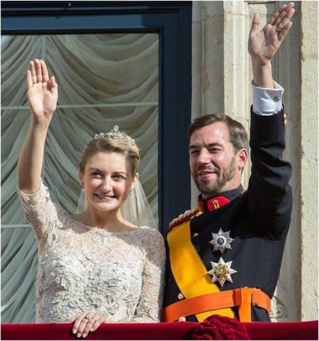Кралска сватба в Люксембург