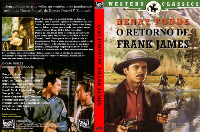 O Regresso De Frank E Jesse James [1948]