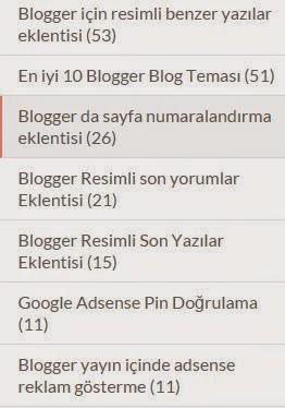 blogger eklentiler