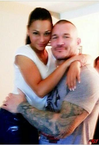Randy Orton And His Girlfriend.