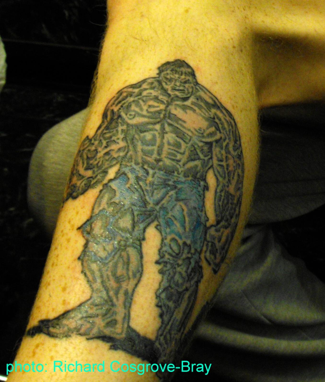 richie tattoo artist incredible hulk and lene lovich tattoos. Black Bedroom Furniture Sets. Home Design Ideas