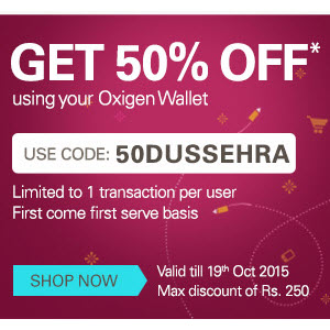 Ebay 50% off using Oxigen Wallet