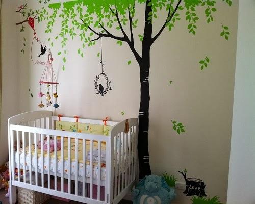 Des propositions de décoration chambre bébé jardin
