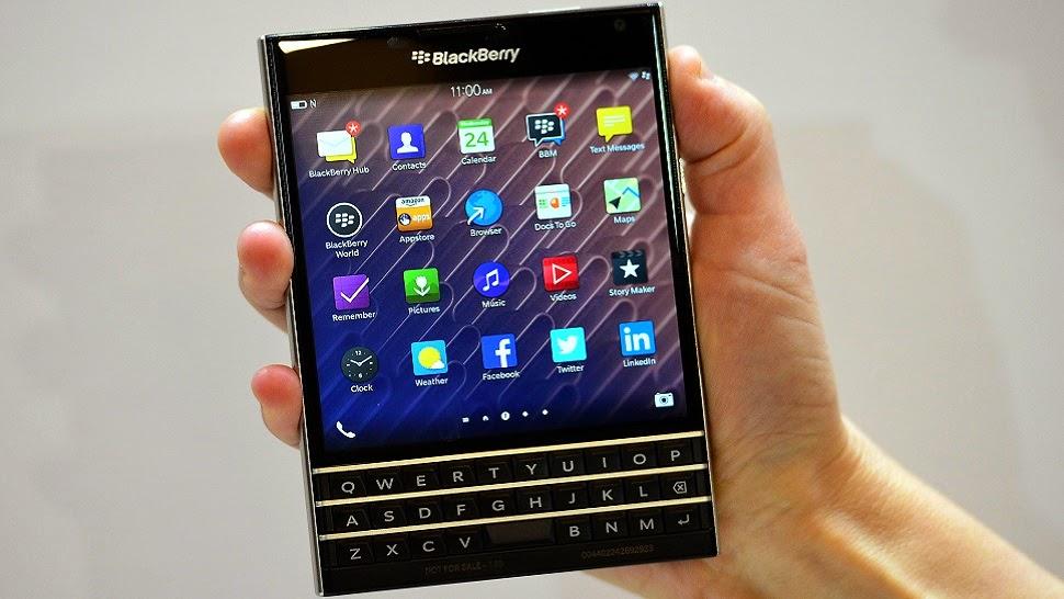 Harga Blackberry passport terbaru di Indonesia