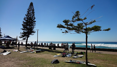Surfing Manly Beach Sydney