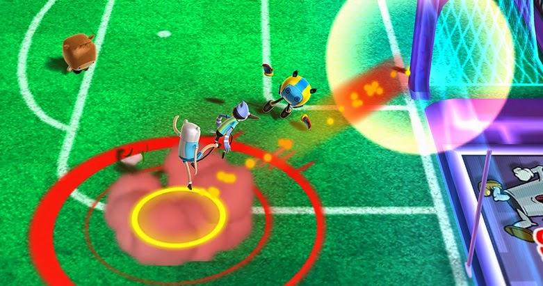 Juego CopaToon Superstar Soccer 2014 de Cartoon Network