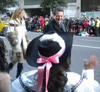 Carnaval - Entroido Vigo 2012 - Caballero y Carmela Silva
