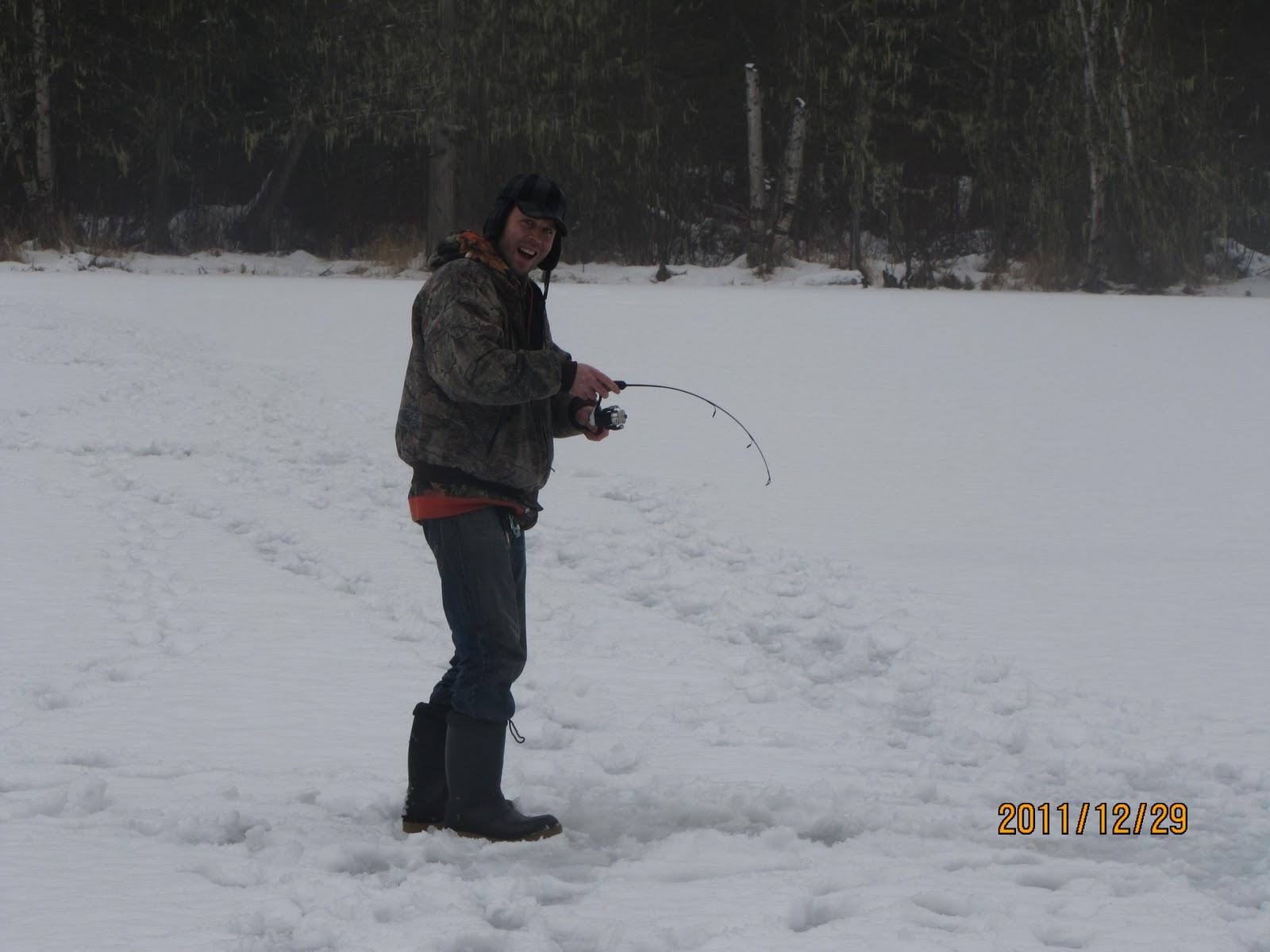 Ice fishing blackwater lake near pemberton bc canada for Best ice fishing fish finder