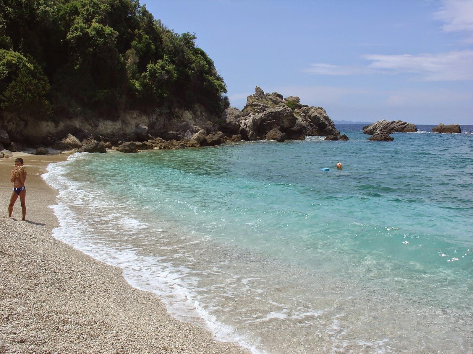 Παραλία Σαρακηνικό - Πάργα
