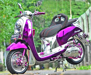 modifikasi-honda-scoopy-air-brush