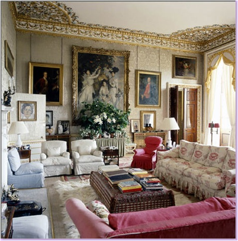 English Country Living Room Design Ideas | Home Decorating Ideas