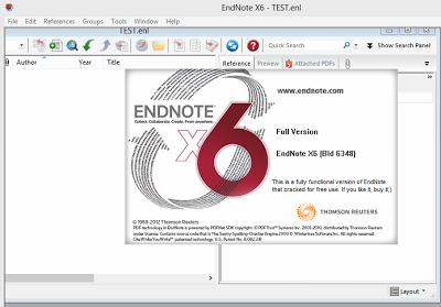 download endnote x6 full crack