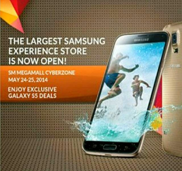New Samsung Experience Store Opens at SM Megamall, Exclusive Freebies For Galaxy S5 Buyers