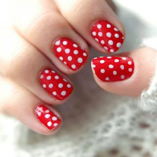 Polka Dot Manicure_fashion2obsession.blogspot.com
