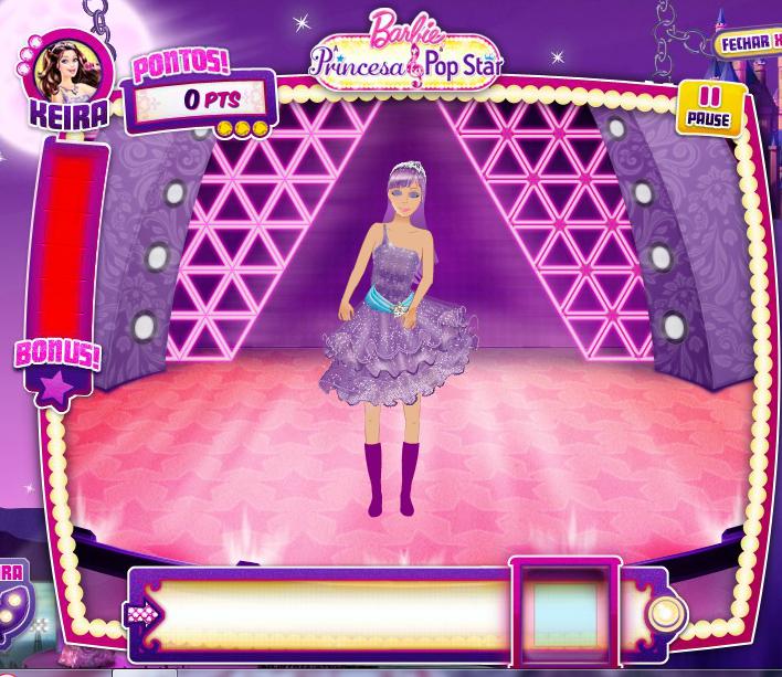 Jogo De Cama Barbie A Princesa E Pop Star Pe As Lepper