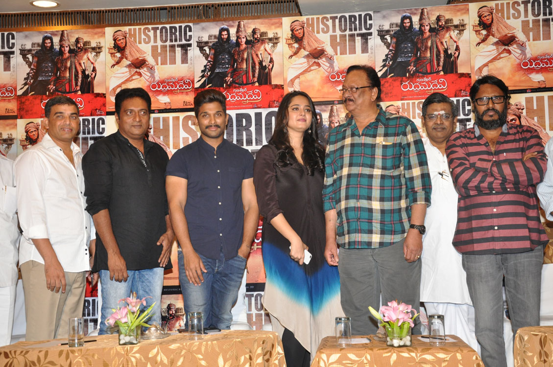 Rudramadevi movie success meet photos-HQ-Photo-7