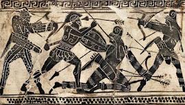 BATALLA DE MARATÓN (Año 490 a. C) REY PERSA DARÍO I Vs  ATENIENSES Y SUS ALIADOS