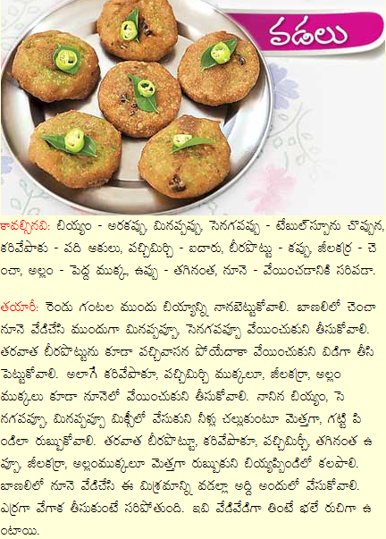 Healthy food recipes beerakaya vada recipe in telugu beerakaya vada recipe in telugu forumfinder Gallery