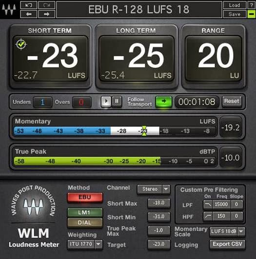 Waves WLM Loudness Meter image