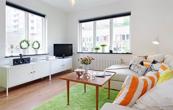 Дизайн квартиры с двумя окнами фото