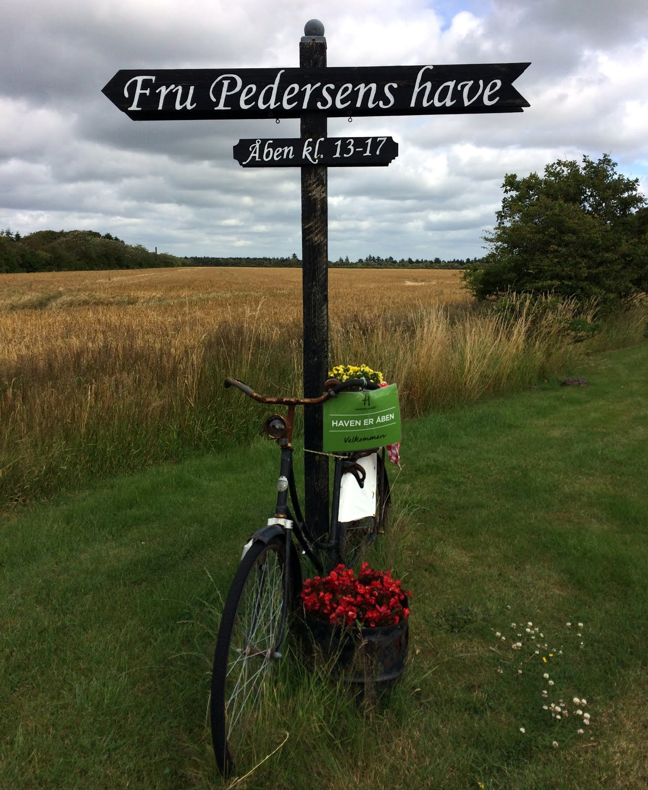 Besøg i Fru Pedersens Have