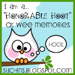 Honorable Hoots Challenge#51. April 18, 2011-Wee Memories