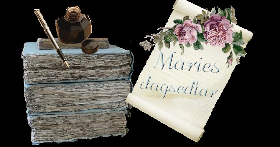 Maries dagsedlar
