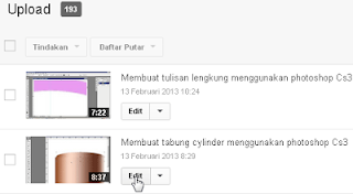 edit video yotube