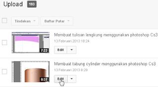 Cara membuat link tautan di video youtube