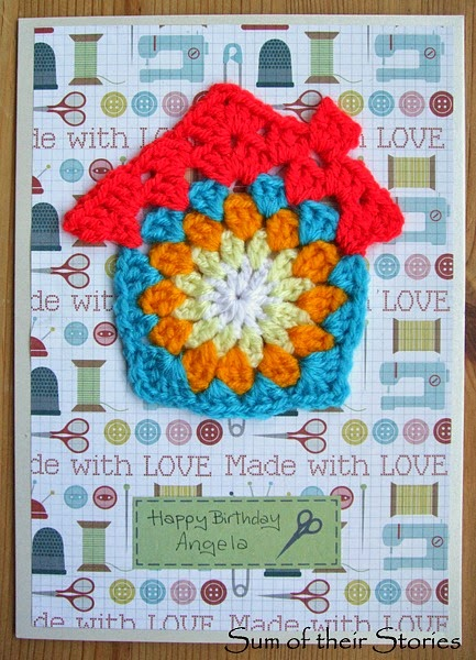 Crochet Granny Square House