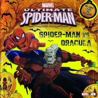 Front cover of Ultimate Spider-Man vs Dracula
