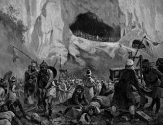 La defensa de Covadonga - HistoriaDeLasCivilizaciones.com