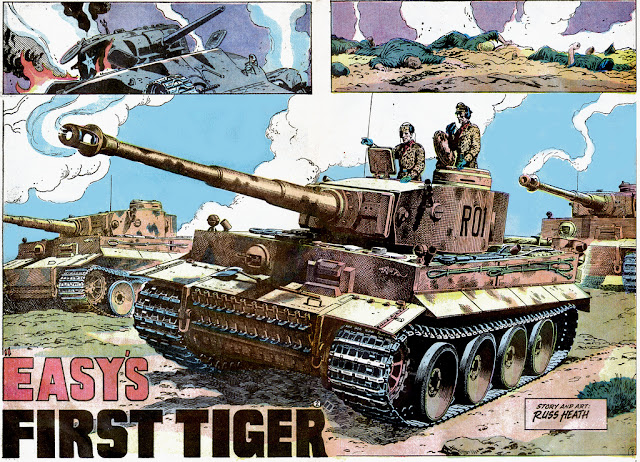 Weird wwii classic panzer porn pin up being an avid comic collector no one besides maybe golden zeck or kirby could have a splash page just kick you square publicscrutiny Choice Image