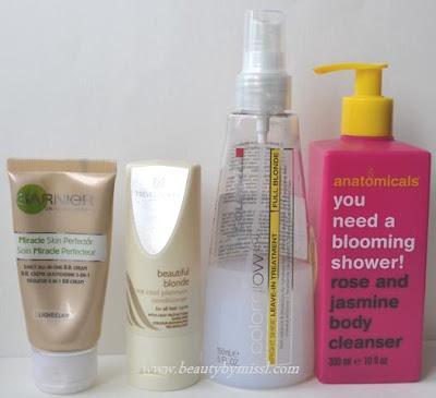 June favorites 2012 - haircare and skincare