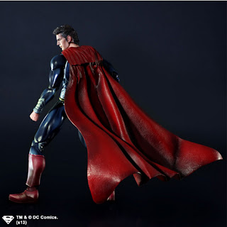 Square Enix Play Arts Kai Man of Steel Superman Figure